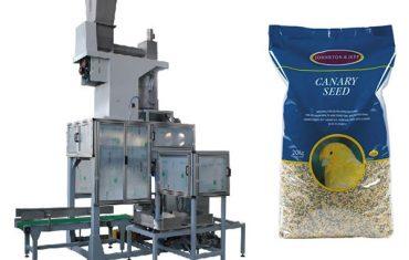 20kg spannmålsfrö öppen munpåse och påsepåfyllnadsvågar