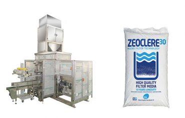 fullautomatisk storpåse med saltpappersmaskin