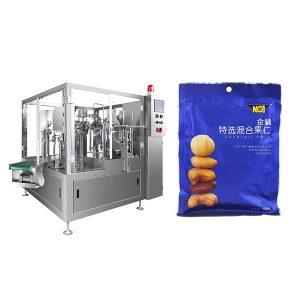 Automatisk fyllningstätning Förpackningsmaskin för fast pulver eller fast