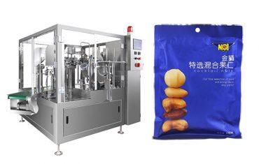 färdigförpackad förpackningsmaskin för påsefyllnadsgranuleringsfyllning