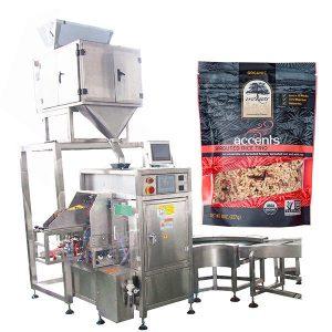 Automatisk fyllnings- och tätningsmaskin för kaffepulver
