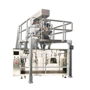 Automatisk horisontell förberedd granulär förpackningsmaskin