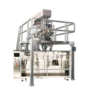 automatisk horisontell förframgjord granulär förpackningsmaskin