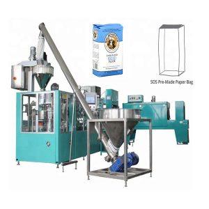Automatisk förberedd papperspåseförpackningsmaskin