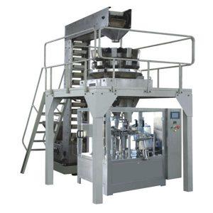 Automatisk Premade Granule Vägning Fyllning och tätning produktionslinje