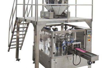 Automatisk roterande matförpackningsmaskin dragkedja väska