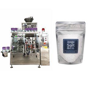 Automatisk Rotary Premade Bag Packing Machine för salt