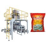 storpåse granulär tungpåse förpackningsmaskin för ris