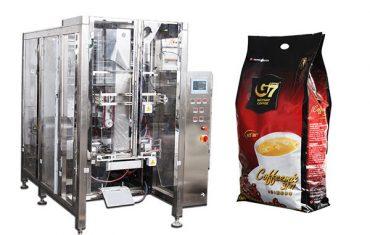 automatisk quad-seglpåse förpackningsmaskinens volymetriska koppfyllnadsmaskin