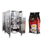 kaffe quad väska form fylla tätning förpackningsmaskin