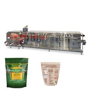 Doypack pulver granulatpackning horisontell form fyllning tätningsmaskin