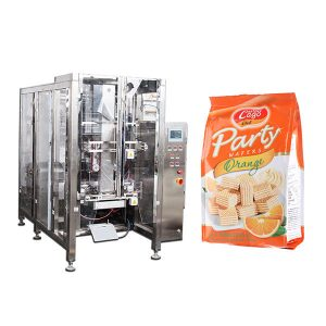 Fullautomatisk Food Quad Seal Bag Packing Machine
