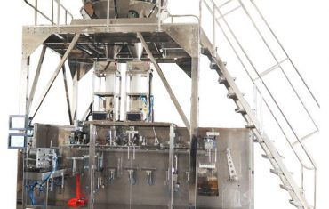 horisontell färdigförpackad maskin med flervägsvikt