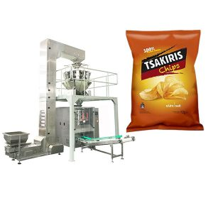 Potatis Chips Packing Machine