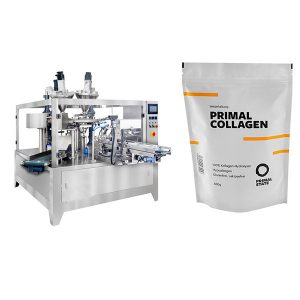 Powder Automatic Pouch Fyllning Packing Machine