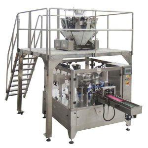 Rotary Automatic Zipper Bag Fill Seal Packing Machine För frösmuttrar