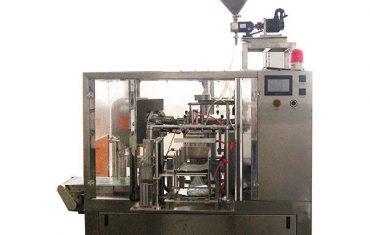 Rotationsfyllnadsförseglingstätning med pistionsfyllmedel för vätska och pasta
