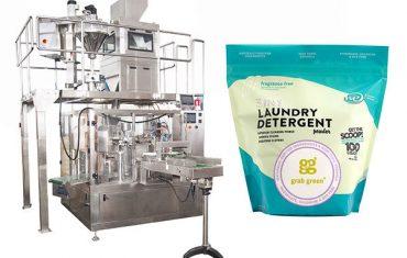 liten granulär suger premade påse packning maskin
