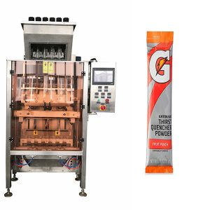 Små säckar Powde Multi-Line Packing Machine